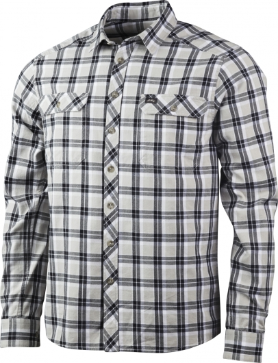 Lundhags Flanell MS Shirt Outdoorhemd (charcoal)