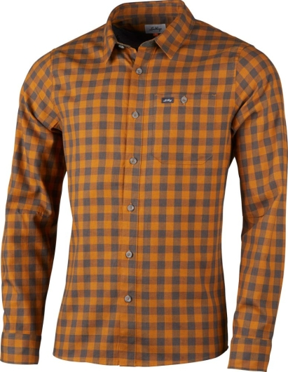 Lundhags Ekren Ms LS Shirt Outdoorhemd (dark-gold)