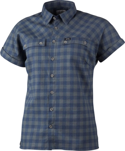 Lundhags Ekren Ws SS Shirt Outdoorhemd (deep-blue)