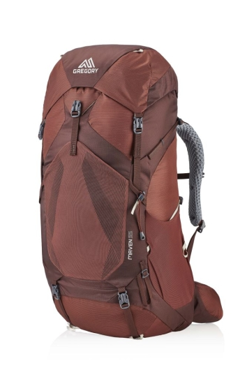 Gregory Maven 55 X-Small/Small Rucksack (rosewood-red)