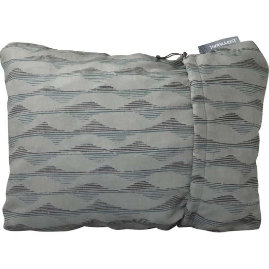 Thermarest Compressible Pillow L (grey-mountains-print)