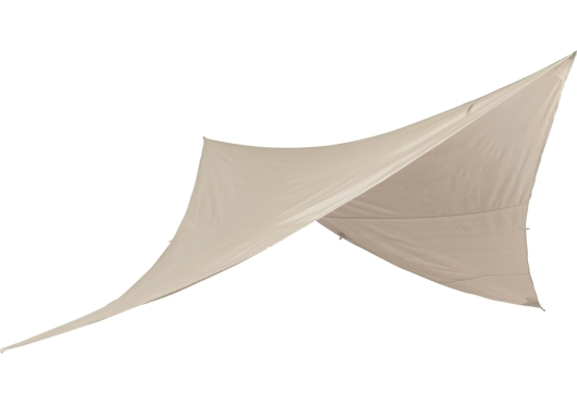 Nordisk Kari Diamond 10 Basic Cotton Tarp (natural)