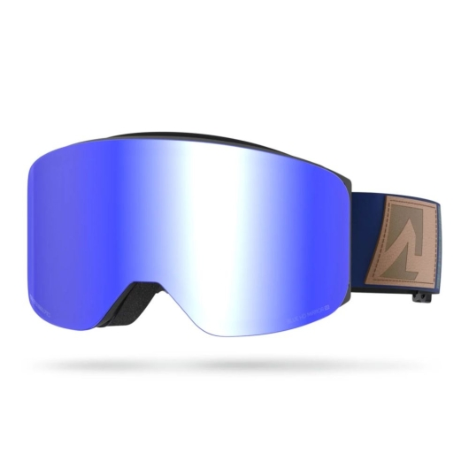 Marker Squadron+ Skibrille (black/blue-hd-mirror)