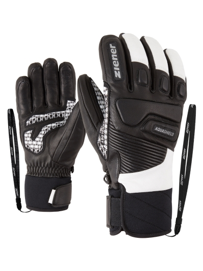 Ziener Gisor AS Handschuhe (black/white)