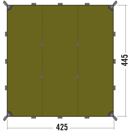 Tatonka Tarp 1 (light-olive)