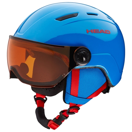 Head Mojo Visor Skihelm (blue)
