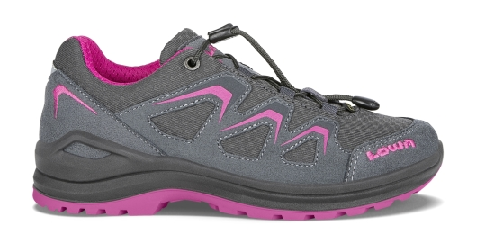 Lowa Innox Evo GTX Lo Junior Outdoorschuhe (graphit/beere)