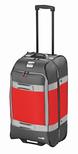 Head Travelbag SM Trolley (anthracite/red)