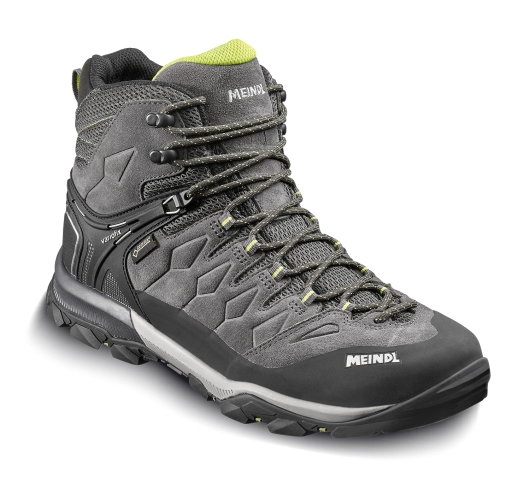 Meindl Tereno Mid GTX Wanderschuhe (anthrazit/lime)