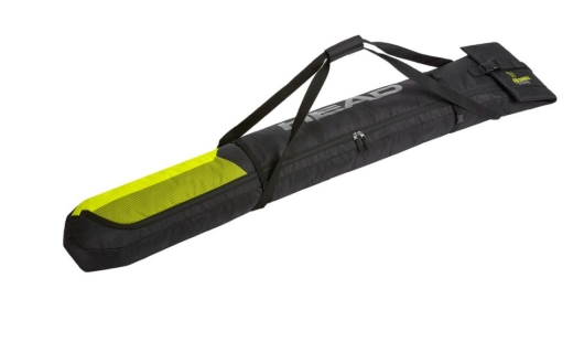 Head Single Skibag Skisack (black/neon-yellow)