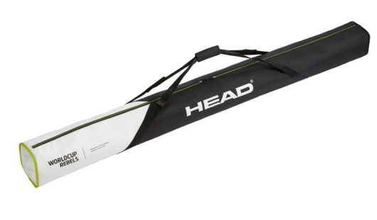Head Rebels Single Skibag Skisack (black/white)