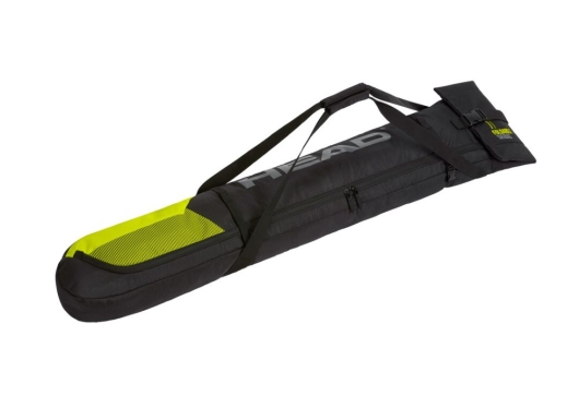 Head Single Skibag Short Skisack (black/neon-yellow)