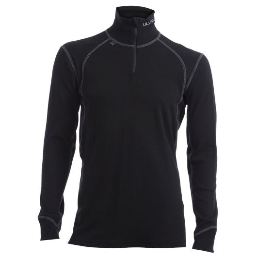 Ulvang Thermo Turtle Neck w/zip Ms Funktionsshirt (black)