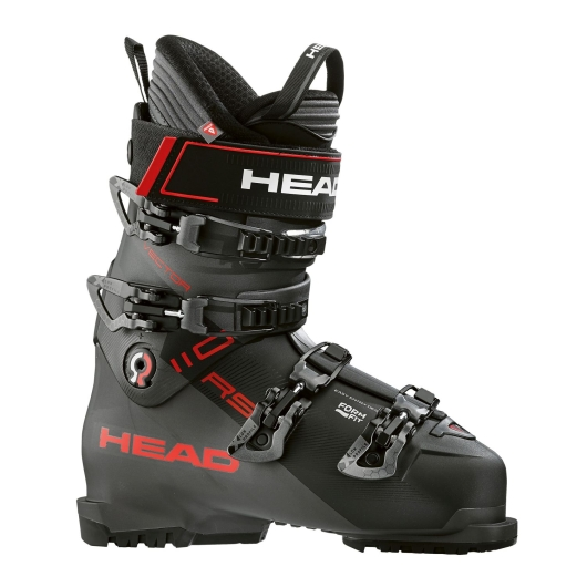 Head Vector 110 RS Skischuhe (black/anthracite/red)