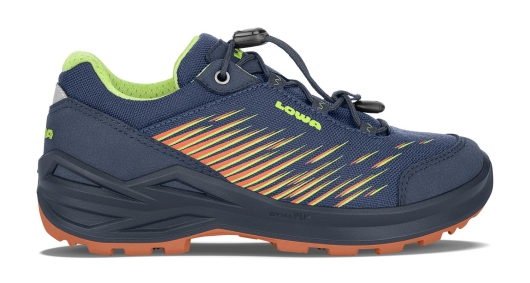 Lowa Zirrox GTX Lo Junior Wanderschuhe (blau/orange)