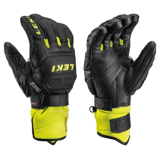 Leki Worldcup Race Flex S Speed System Handschuhe (schwarz/ice-lemon)