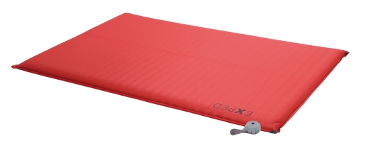 Exped Sim Comfort Duo 7.5 Isomatte (red)
