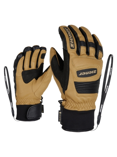 Ziener Guard GTX + Gore Grip PR Handschuhe (curry)