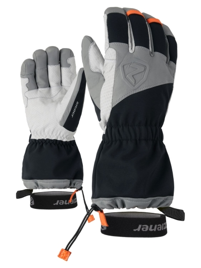 Ziener Grandus AS PR Handschuhe (black/new-orange)
