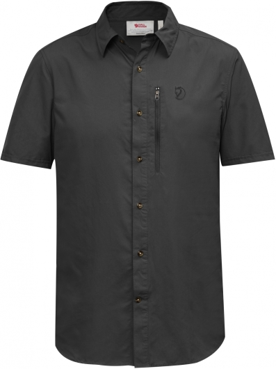 Fjällräven Abisko Hike SS Outdoorshirt (dark-grey)