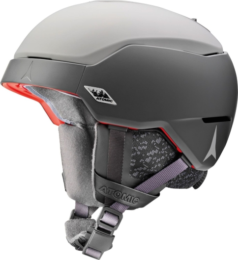 Atomic Count AMID Skihelm (light-grey/dark-grey)