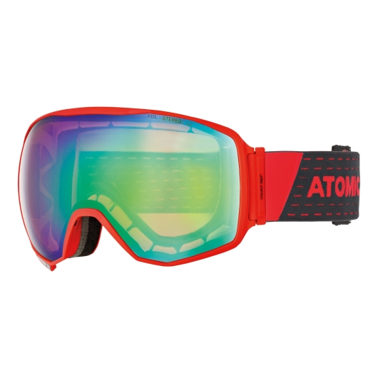 Atomic Count 360 Stereo Skibrille (red/blue)