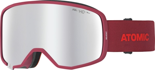 Atomic Revent HD Skibrille (red)