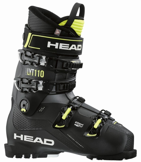 Head Edge LYT 110 Skischuhe (black/yellow)