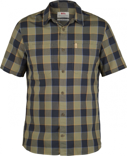 Fjällräven High Coast Big Check Shirt SS Outdoorhemd (savanna)