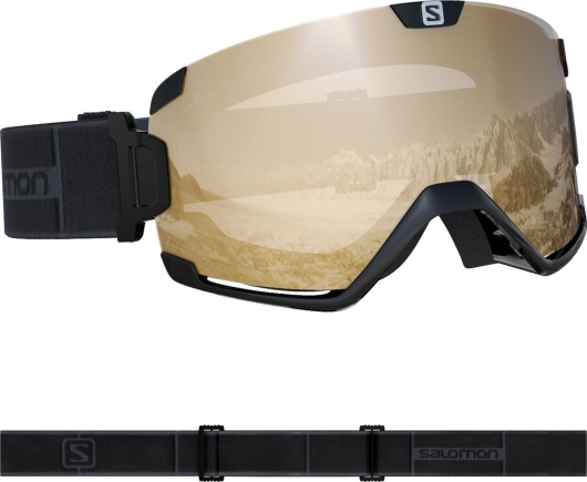 Salomon Cosmic Access Skibrille (black)