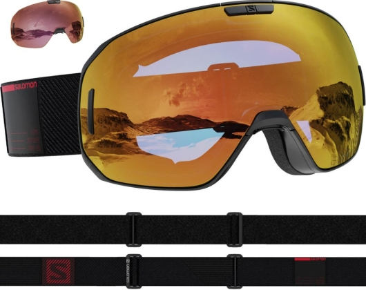 Salomon S/Max Sigma Skibrille (black/red)