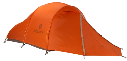 Marmot Eclipse Tunnel 2-Personen Zelt (vintage-orange)