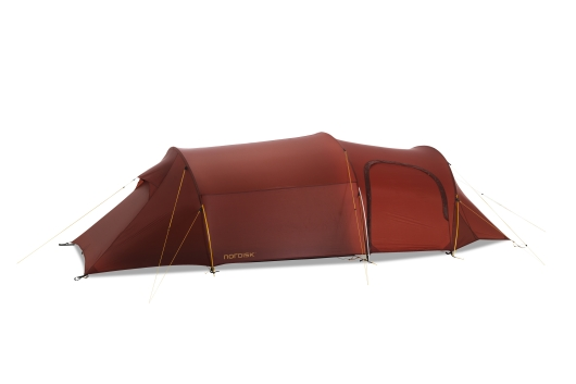 Nordisk Oppland Lightweight 3-Personen Zelt (burnt-red)