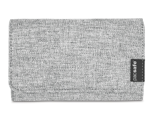 Pacsafe RFIDsafe LX100 Geldbeutel (tweed-grey)