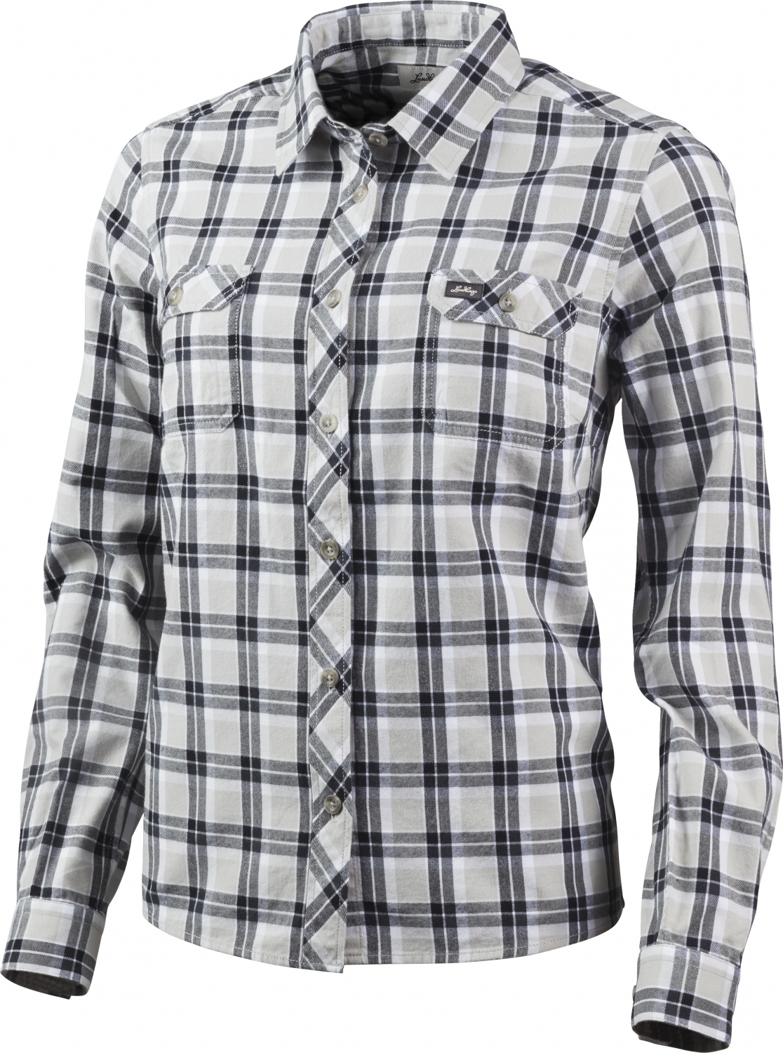 Pine//Charcoal Lundhags Flanell Ws Shirt Outdoorhemd