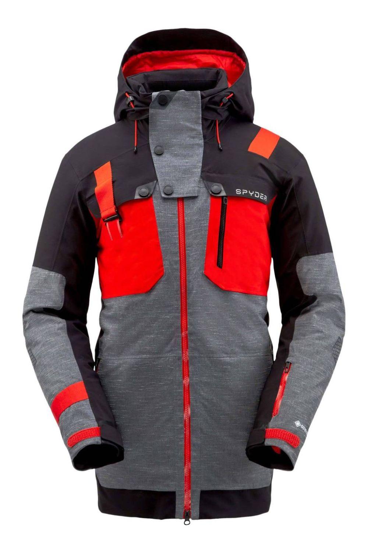 Spyder TORDRILLO Herren Gore Tex Ski Primaloft Jacke grau