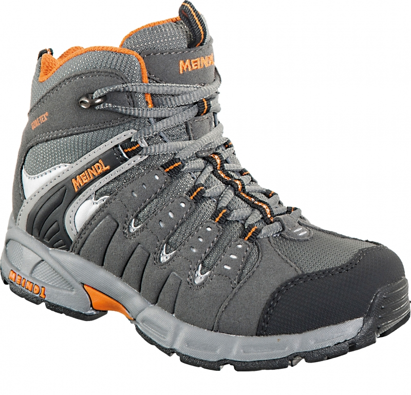 new arrival 3c7e0 c2648 Meindl Snap Junior Mid GTX Outdoorschuhe (anthrazit/orange)