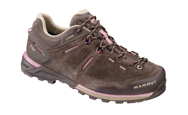 Outlet zu verkaufen New York neuer Stil Mammut Alnasca Low GTX Women Trekkingschuhe (coffee/rose)