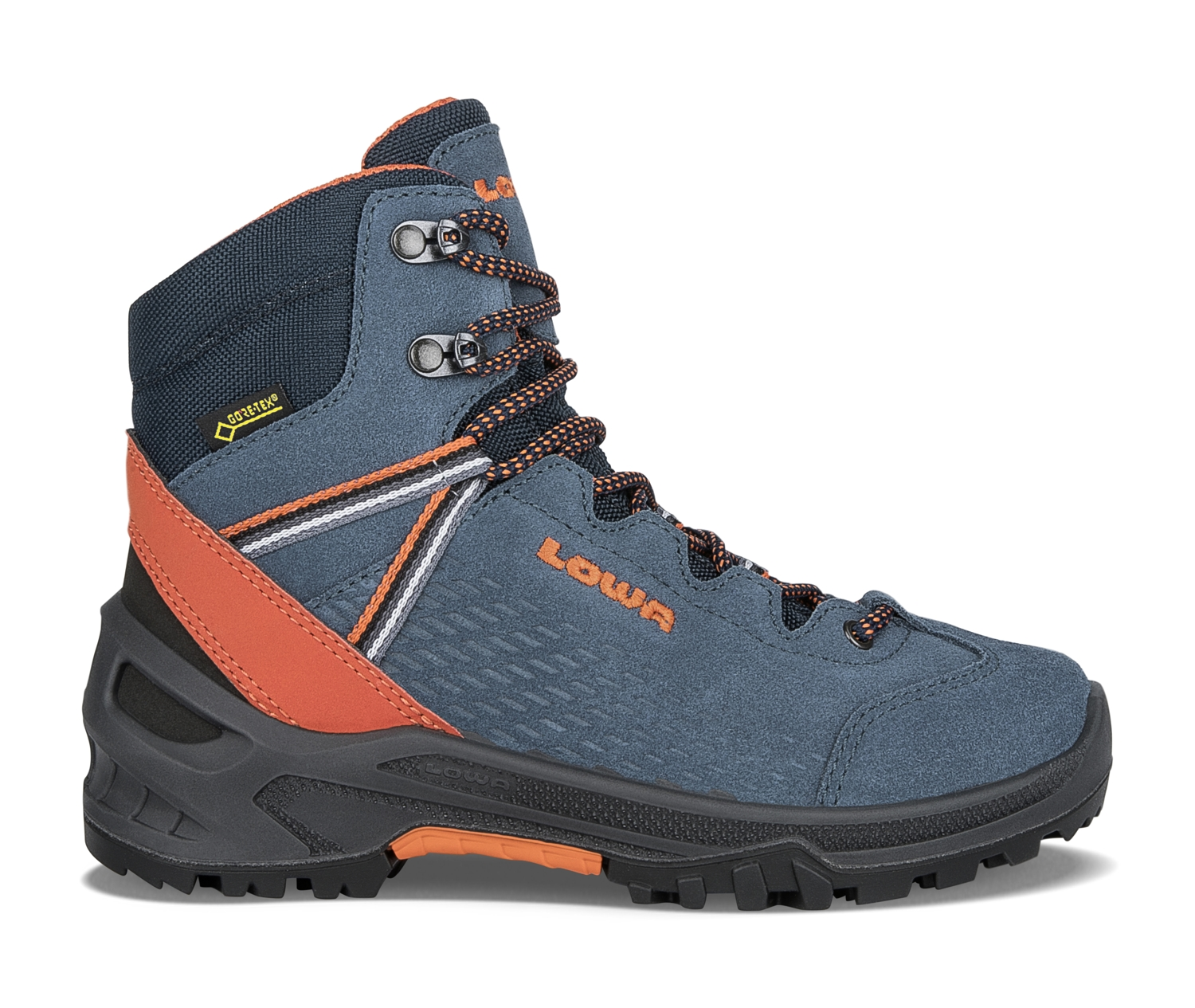 where to buy newest collection best service Lowa Ledro GTX Mid Junior Outdoorschuhe (blau/orange)
