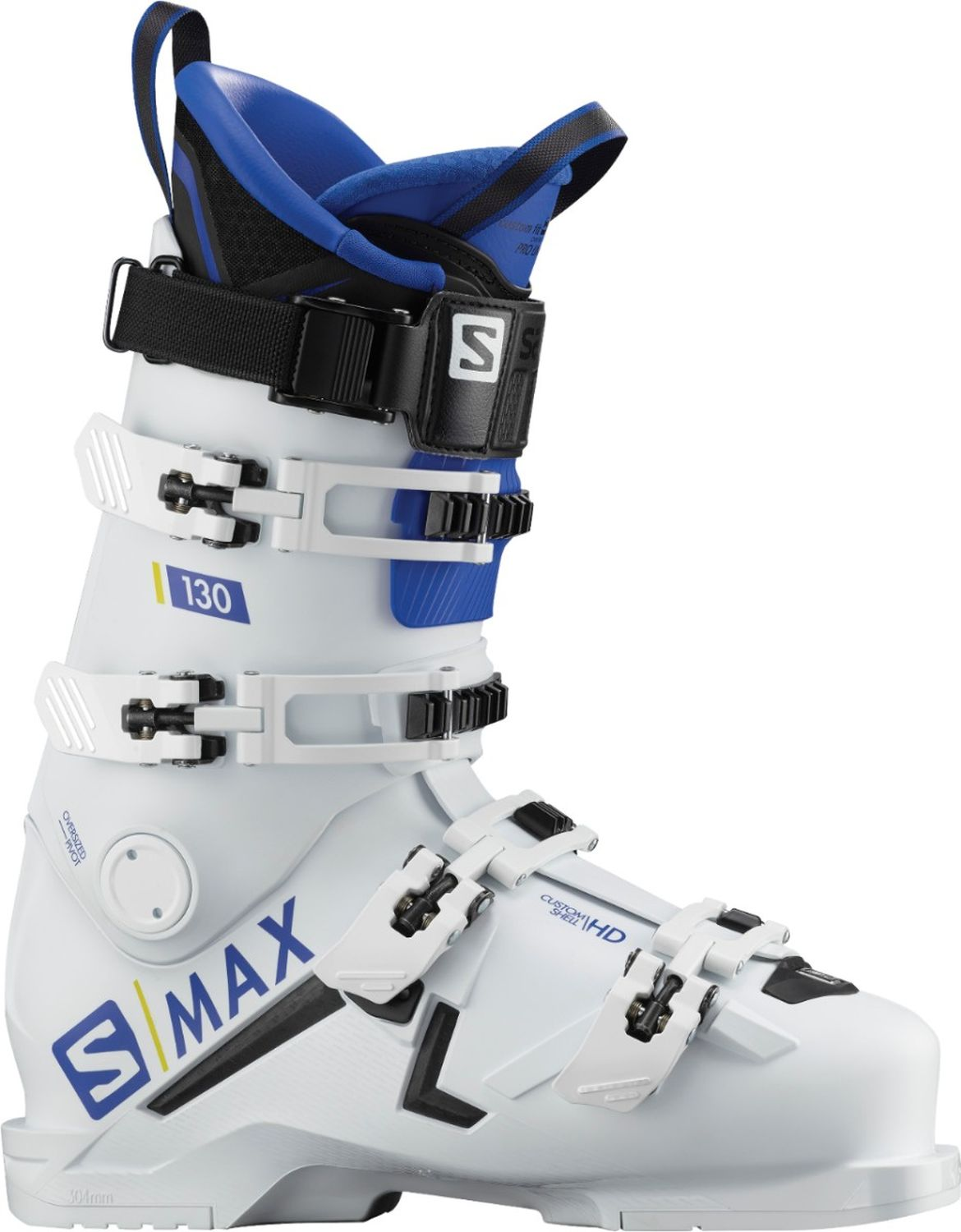 100% high quality online for sale recognized brands Salomon S/Max 130 Skischuhe (white/raceblue)