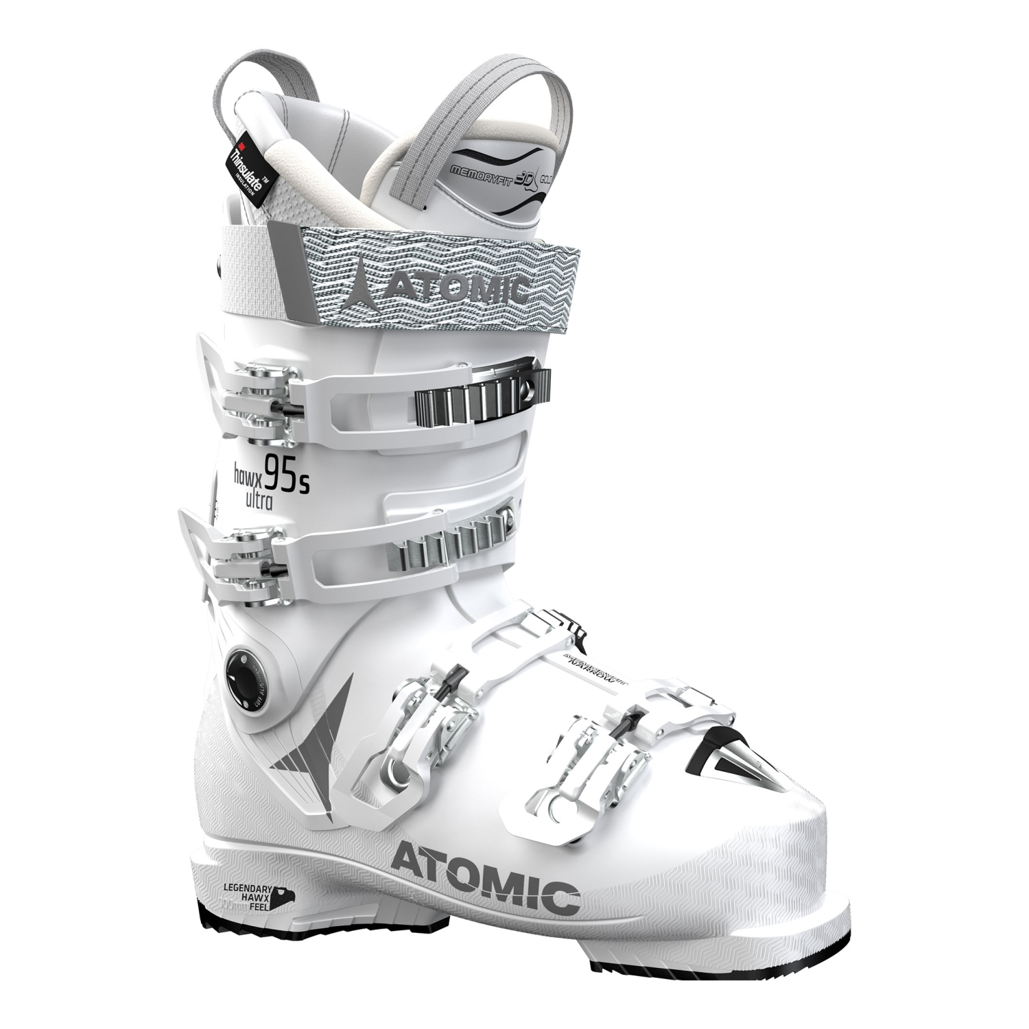 low priced 6a17f 63609 Atomic Hawx Ultra 95 S W Skischuhe (white/silver)