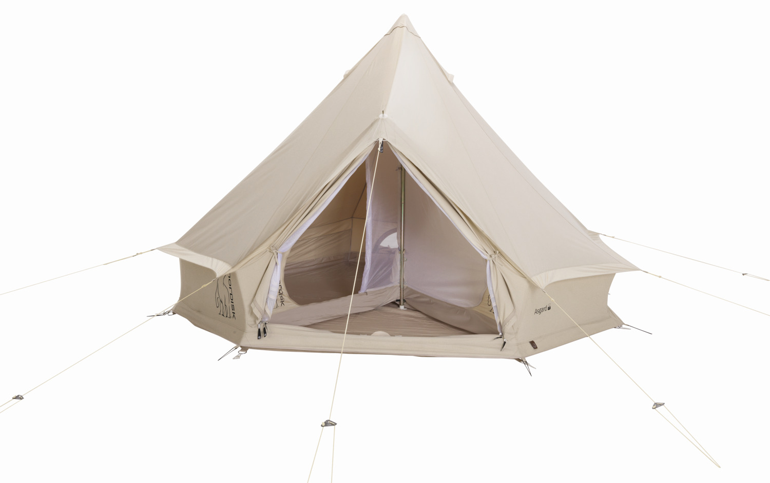 Zelt 7 In 1 : Nordisk asgard zelt natural krusche outdoor